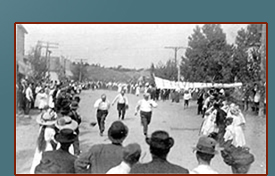 The Annual Plokafest Parade, 7/4/1918